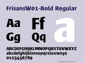 FrisansW01-Bold