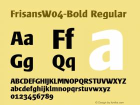 FrisansW04-Bold