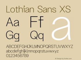 Lothian Sans
