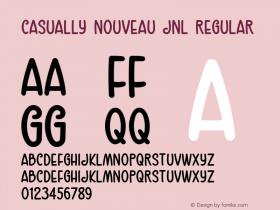 Casually Nouveau JNL