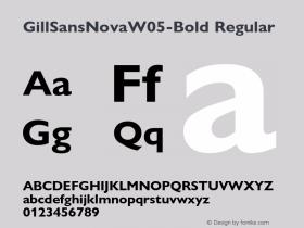 GillSansNovaW05-Bold
