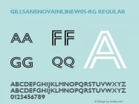 GillSansNovaInlineW05-Rg