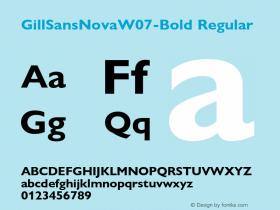 GillSansNovaW07-Bold