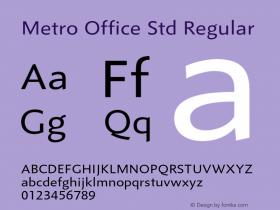 Metro Office Std
