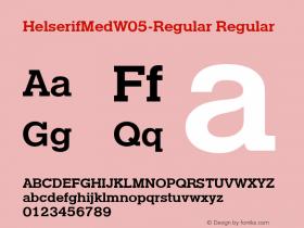 HelserifMedW05-Regular