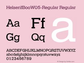 HelserifBooW05-Regular
