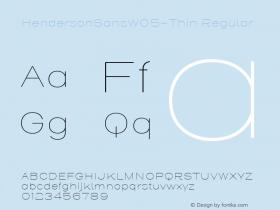 HendersonSansW05-Thin