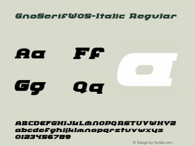 GnoSerifW05-Italic