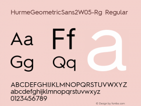 HurmeGeometricSans2W05-Rg