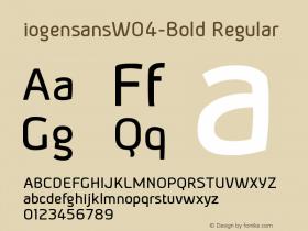 iogensansW04-Bold