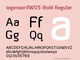 iogenserifW05-Bold