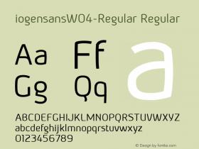 iogensansW04-Regular