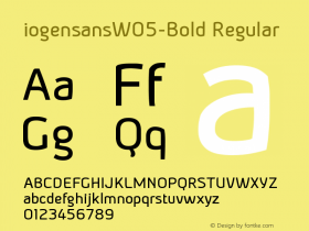 iogensansW05-Bold