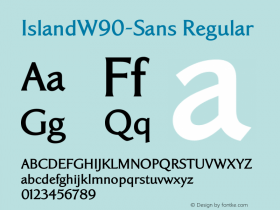 IslandW90-Sans