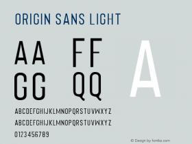 Origin Sans