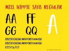 Miss Hippie Sans
