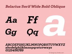 Belarius Serif