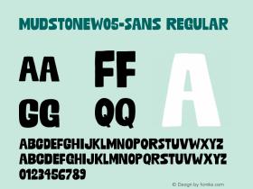 MudstoneW05-Sans