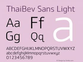 ThaiBev Sans