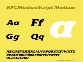 KFCModernScript
