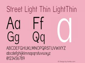 Street Light Thin