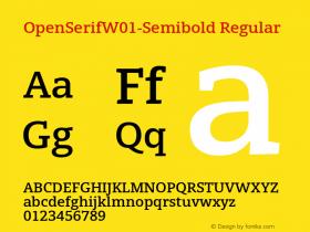 OpenSerifW01-Semibold