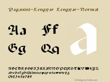Paganini-Lengyar