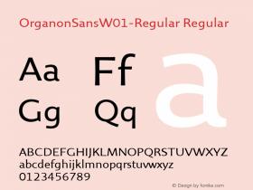 OrganonSansW01-Regular