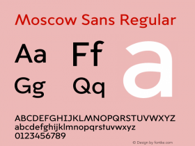 Moscow Sans