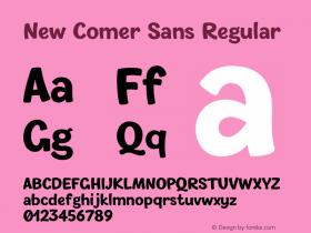 New Comer Sans