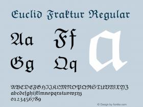 Euclid Fraktur