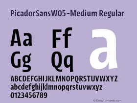 PicadorSansW05-Medium