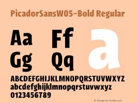 PicadorSansW05-Bold