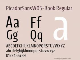 PicadorSansW05-Book