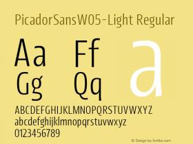PicadorSansW05-Light