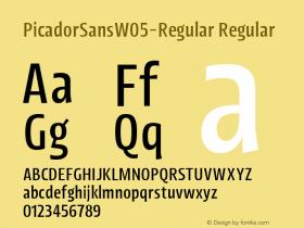 PicadorSansW05-Regular