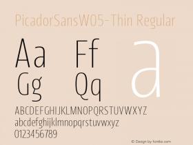PicadorSansW05-Thin