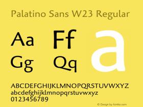 Palatino Sans W23