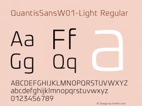 QuantisSansW01-Light