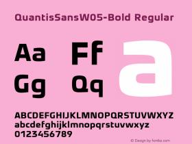 QuantisSansW05-Bold
