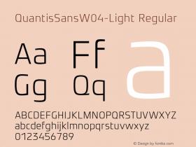 QuantisSansW04-Light