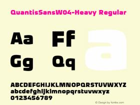 QuantisSansW04-Heavy