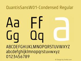 QuantisSansW01-Condensed
