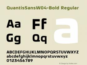 QuantisSansW04-Bold