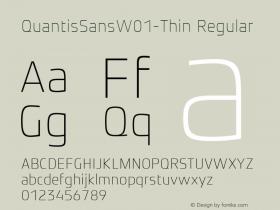 QuantisSansW01-Thin