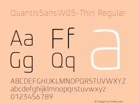 QuantisSansW05-Thin