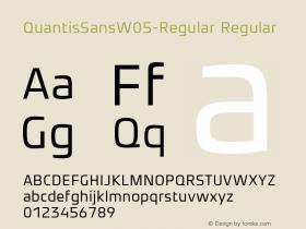 QuantisSansW05-Regular