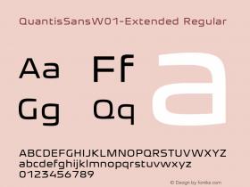 QuantisSansW01-Extended