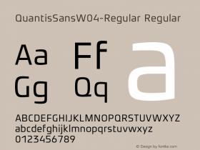 QuantisSansW04-Regular