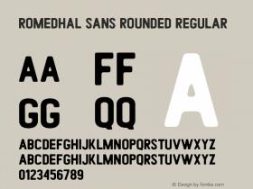 Romedhal Sans Rounded
